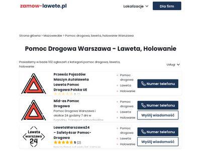 Pomocdrogowa-24.waw.pl Warszawa