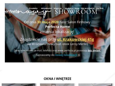 Perfecta.pl żaluzje pionowe