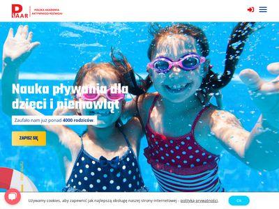 Paar.edu.pl nauka pływania