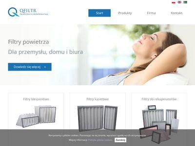 Qfiltrs - producent filtrów powietrza