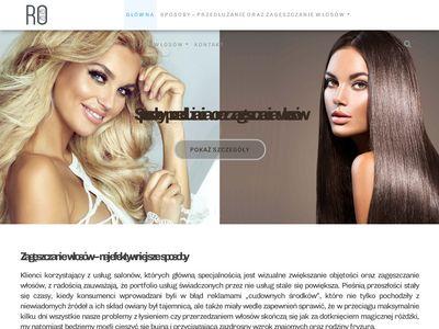 Zageszczaniewlosow.pl - włosy w kitce