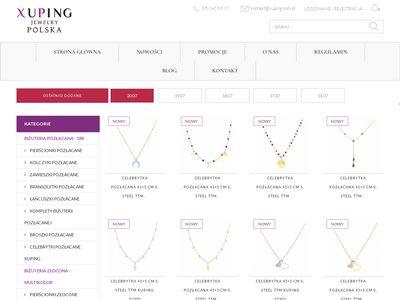 Xuping.com.pl biżuteria